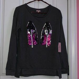 Juicy couture High Heel Sweatshirt Size M